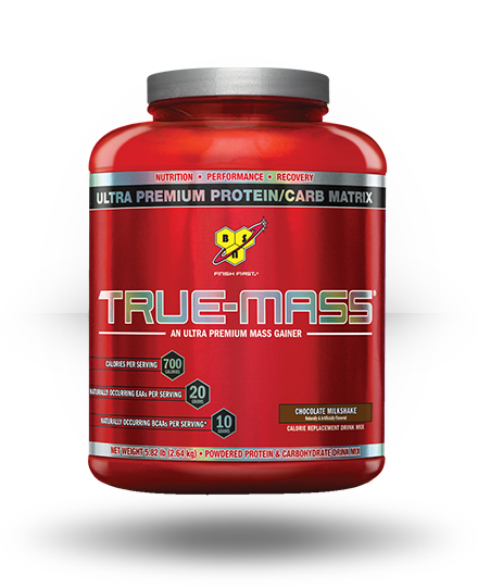 BSN True-Mass Chocolate Milkshake 5.82 lb