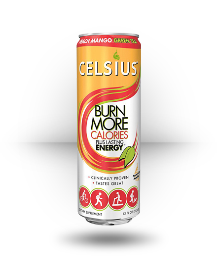 Celsius Celsius Peach Mango Green Tea 12 ea