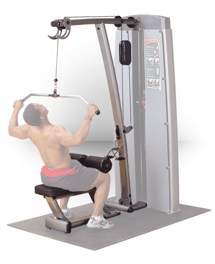 Body-Solid Pro Dual Lat Mid Row (For DGYM)