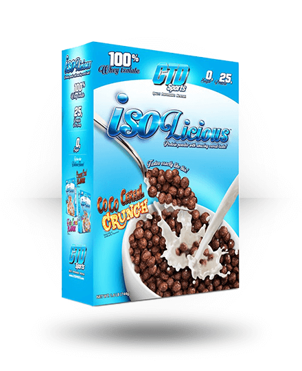 CTD Sports Isolicious Coco Cereal Crunch 1.6 lb