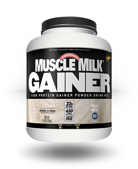 CytoSport Muscle Milk Gainer Cookies n' Creme 5 lb