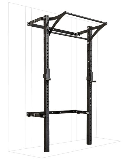 PRX Performance 3x3 Profile Rack with kipping bar Black Oynx, 8'