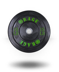 Rage Fitness Rage Pro Olympic Bumper 15 lb