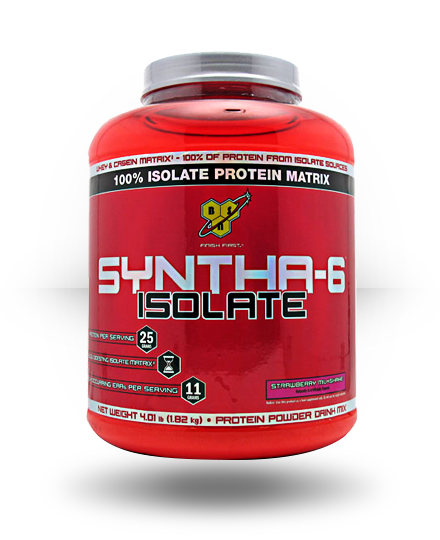 BSN Syntha-6 Isolate Strawberry Milkshake 4 lb