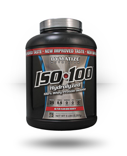 Dymatize Iso-100 Strawberry 5 lb