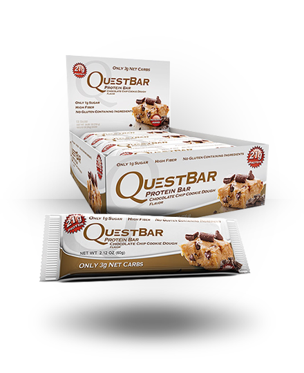 Quest Nutrition Quest Protein Bar Chocolate Chip Cookie Dough 12 e
