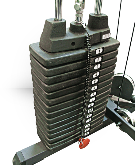 Body-Solid Selectorized Weight Stack 50 lb 2