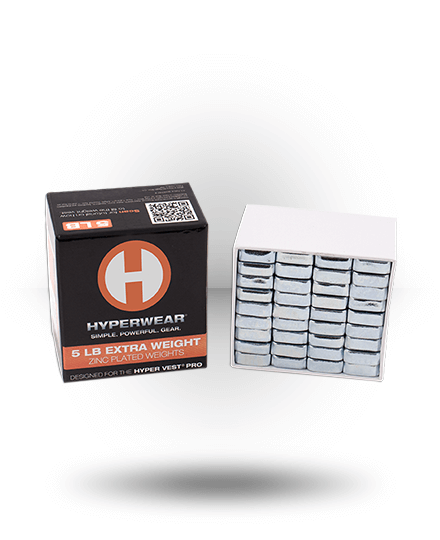 Hyperwear Booster Pack For Hyper Vest Pro 5 lb