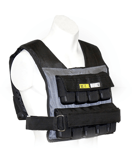 Xtreme Monkey Commercial Micro Adjustable Weighted Vest 55 lb