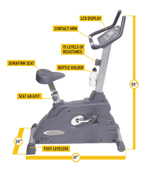 Manual Upright Bike