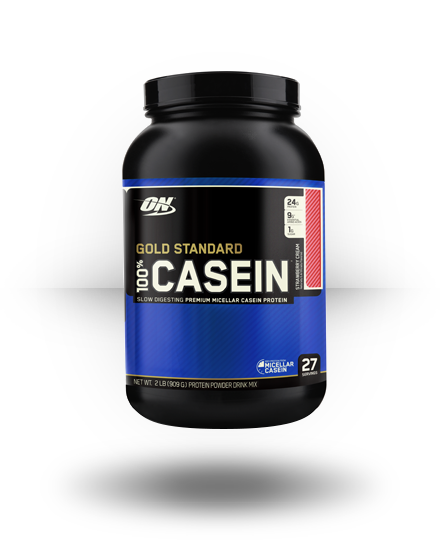 Optimum Nutrition Gold Standard 100% Casein Strawberry Cream 2 lb