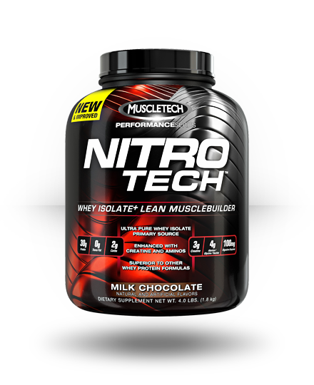 MuscleTech Nitro-Tech Milk Chocolate 41 Servings