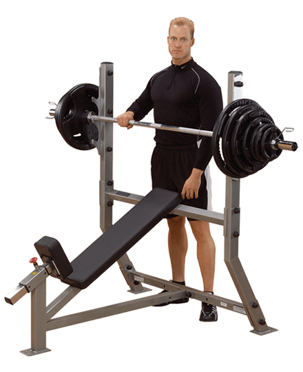 ProClubline Incline Olympic Bench