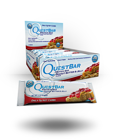 Quest Nutrition Quest Protein Bar Peanut Butter & Jelly 12 ea