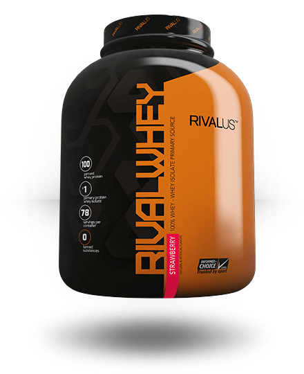 Rivalus Rivalwhey Strawberry 5 lb