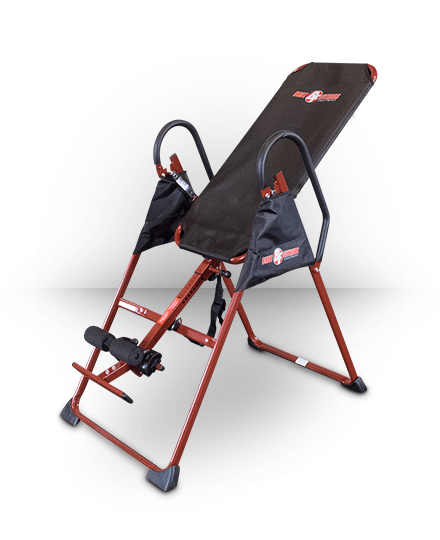 Best Fitness Inversion Table Red