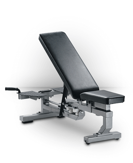 York Barbell Multi-Function Bench Silver