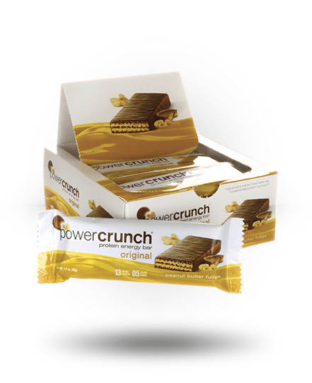 Power Crunch Original Protein Energy Bar Peanut Butter Fudge 12 x 1.4 oz Bars