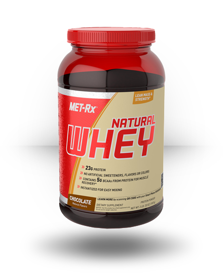 MET-Rx Natural Whey Chocolate 2 lb