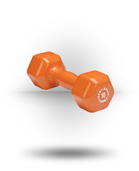 Body-Solid Vinyl Dumbbell Orange 10 lb