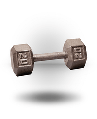 Body-Solid Hex Dumbbell 20 lb