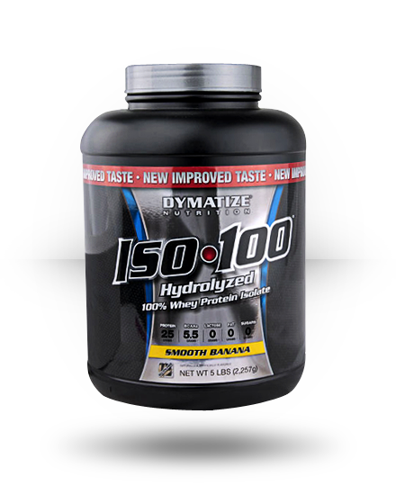 Dymatize Iso-100 Smooth Banana 5 lb