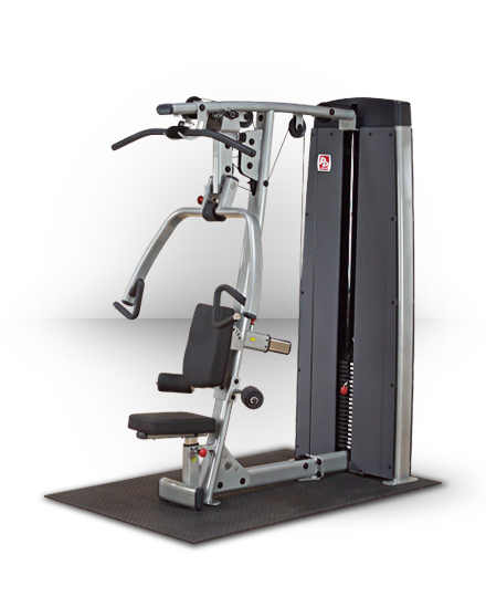 Body-Solid Pro Dual Vertical Press and Lat Station (NO STACK)