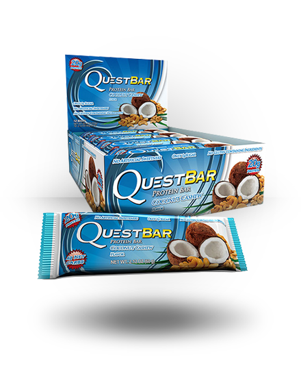 Quest Nutrition Quest Natural Protein Bar Coconut Cashew 12 ea