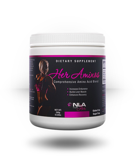 NLA For Her Her Aminos Pink Lemonade 30 ea