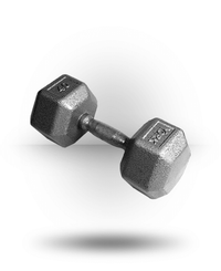 York Barbell Pro Hex Dumbbell With Cast Ergo Handle 40 lb