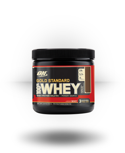 Optimum Nutrition Gold Standard 100% Whey Double Rich Chocolate 3 ea