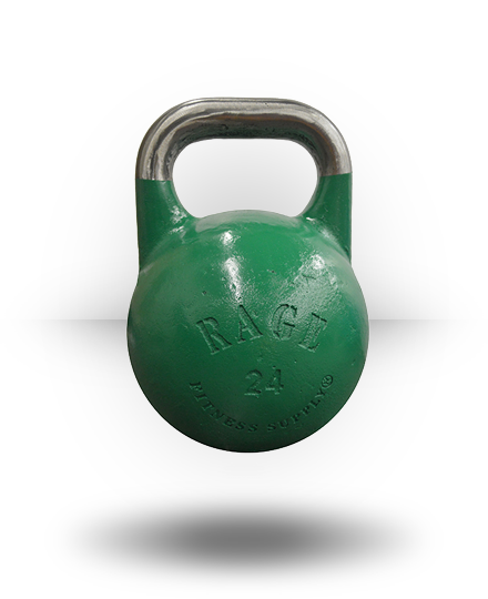Rage Fitness Rage Competition Kettlebell 24 kg Green