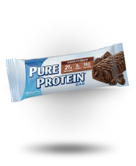 Worldwide Sport Nutritional Supplements Pure Protein High Protein Bar Chocolate Deluxe 12