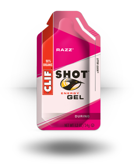 Clif Shot Energy Gel Razz 24 ea
