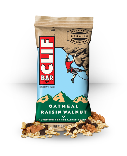 Clif Bar Energy Bar Oatmeal Raisin Walnut 12 ea