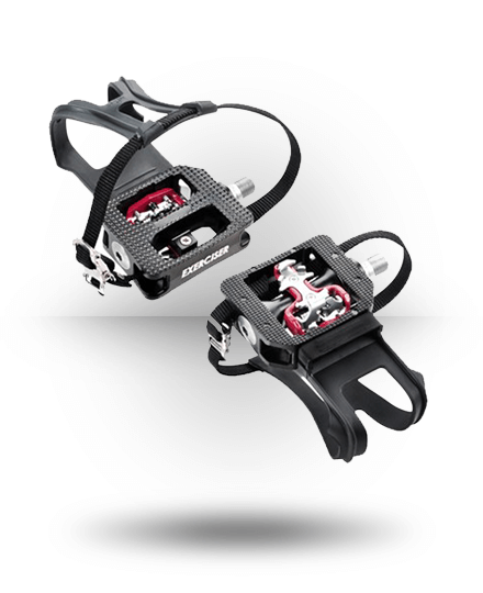 Bodycraft SPD V2/Toe Cage Commercial Pedals for SPX & SPT (9/16