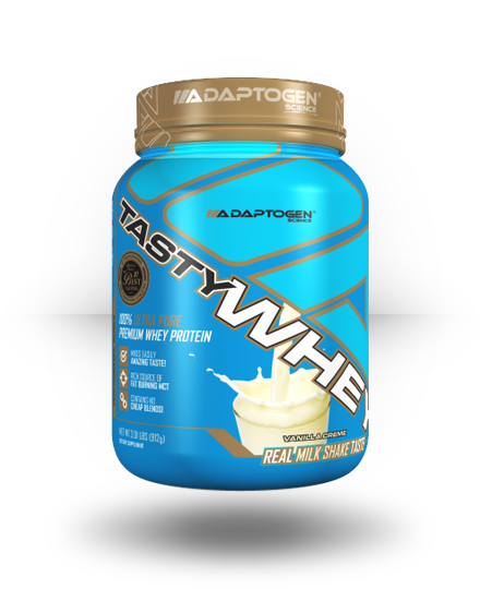 Adaptogen Science Tasty Whey Vanilla Creme, 5 lb