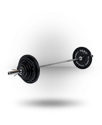 York Barbell Standard Cast Iron Olympic Set 300 lb