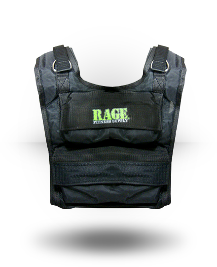 Rage Fitness Rage Weighted Vest 36 lb Capacity