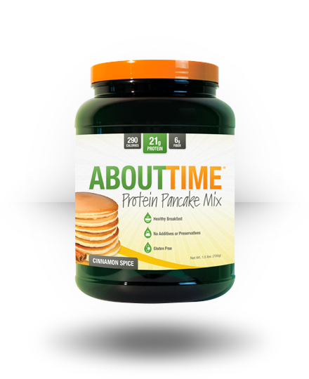 About Time About Time Protein Pancake Mix Cinnamon Spice 10 e