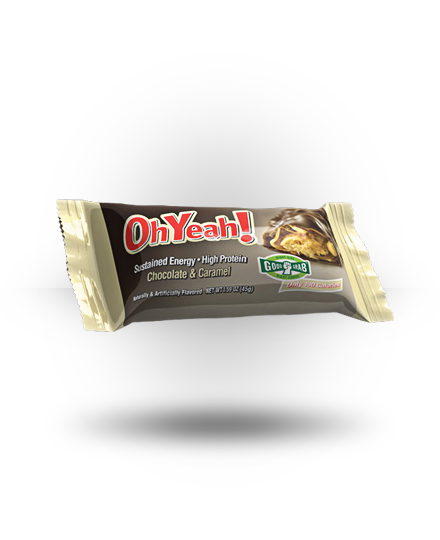 ISS OhYeah! Bar Chocolate & Caramel 12 ea 45g