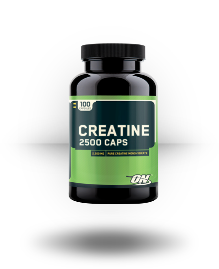 Optimum Nutrition Creatine 2500 Caps 100 ea