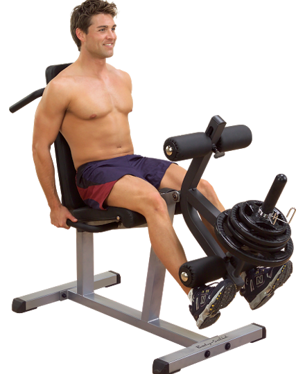 "2"" X 3"" Supine Leg Curl / Extension Machine"