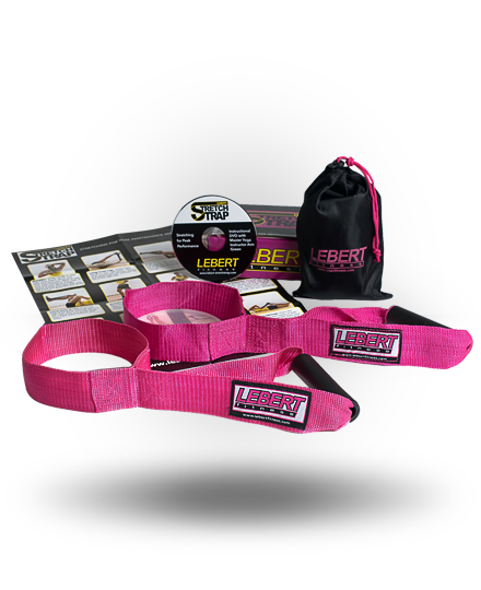 Lebert Fitness Stretch Strap Pink