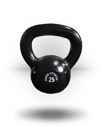 Rage Fitness Rage Kettlebell Cast Iron 25 lb