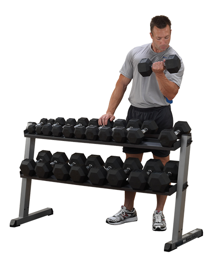 Body-Solid Heavy Dumbbell Rack 3