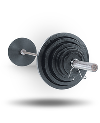 Body-Solid Olympic Weight Set Chrome Bar 300 lb