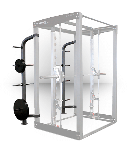 Bodycraft Jones Plate Racks for JLC and JCLUB