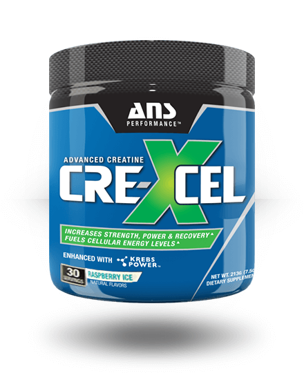 ANS Performance CreXcel Raspberry Ice 30 Servings