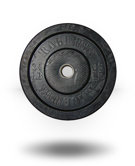 Rage Fitness Rage Olympic Bumper Plate 35 lb